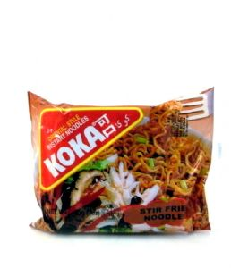 Koka Spicy Stir Fried Instant Noodles | Buy Online at The Asian Cookshop.